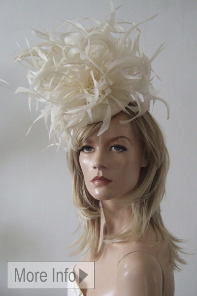 Laura Apsit Liven Hats. Ascot Hat Hire. Mother of the Bride. www.dress-2-impress.com London Hat Hire. Ascot Hats