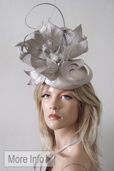 Ascot Headpiece for Hire for Royal Ascot, Espom Downs, Aintree