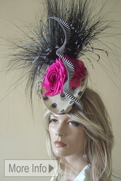 Philip Treacy Couture Ascot Hat. Ascot Hat Hire. Ascot Hats. Philip Treacy Hat Hire. Hats for Ascot. Hats for the Races. Headpieces for Royal Ascot