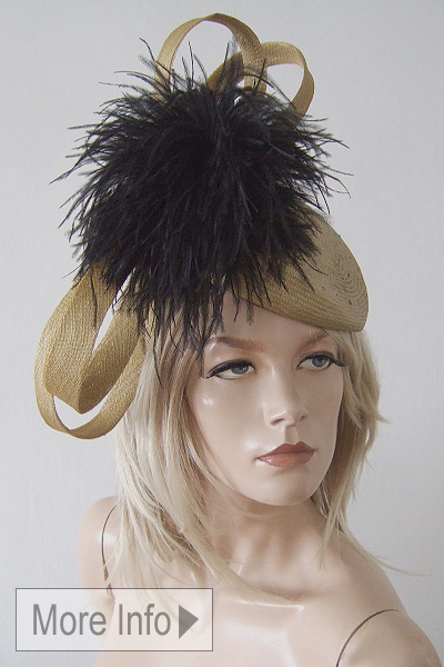 William Chambers Ascot Hat. Ascot Hat Hire. Fun Ascot Hats