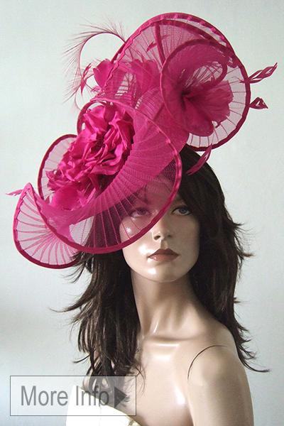Peter Bettley Hats. London Milliner. Ascot Hat Hire. Amazing Ascot Hats, Ladies Hat Hire