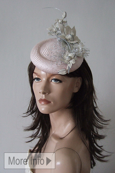 Justine Bradley Hill Percher Hat. Ascot Hat Hire. Mother of the Bride Fascinators, Mother of the Bride Hats