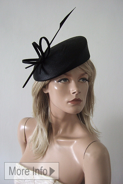 Black Hats for Hire, Hat for a Autumn Wedding, Black Fascinators, Hats like Kate Middleton Wears, Hats like Meagan Markle Wears. Hat rental for Royal Ascot, Black hats for Royal Ascot