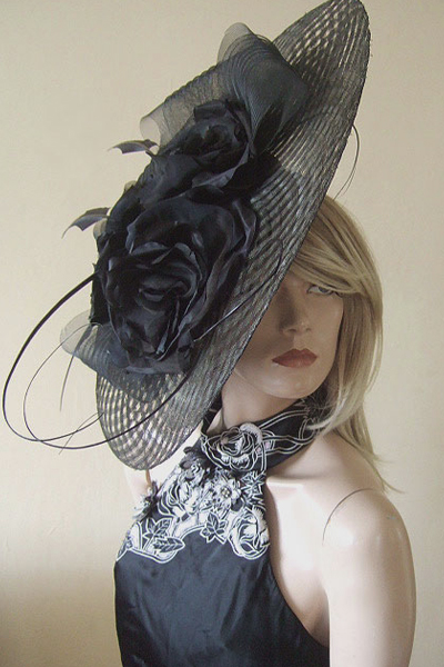 Edwina Ibbotson Hat Hire, Hats for Royal Ascot. www.dress-2-impress.com