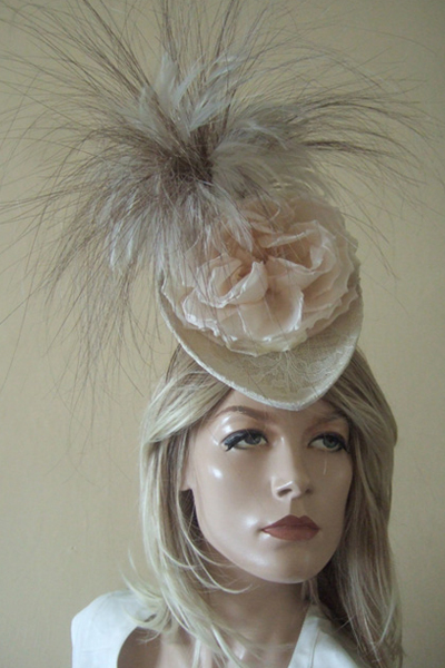 Philip Treacy Lace Headpiece Hat for Hire