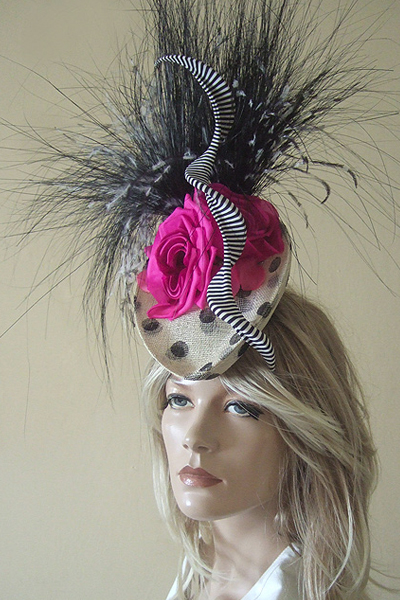 Philip Treacy Couture Ascot Hat. Ascot Hat Hire. Ascot Hats. Philip Treacy Hat Hire
